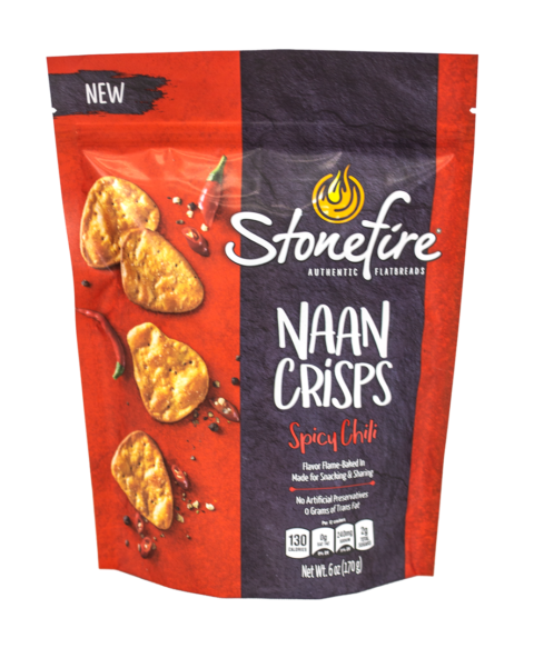 Spicy Chili Naan Crisps